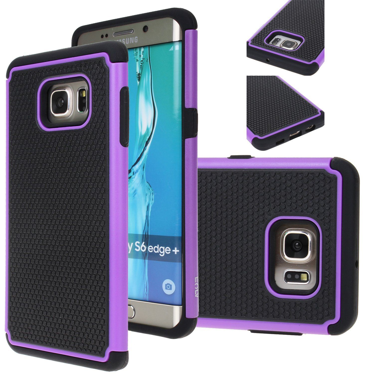 Galaxy S6 Edge Plus Case E Lv Samsung Shock Protection Proof Defender Slim Cover Full From Drops And I