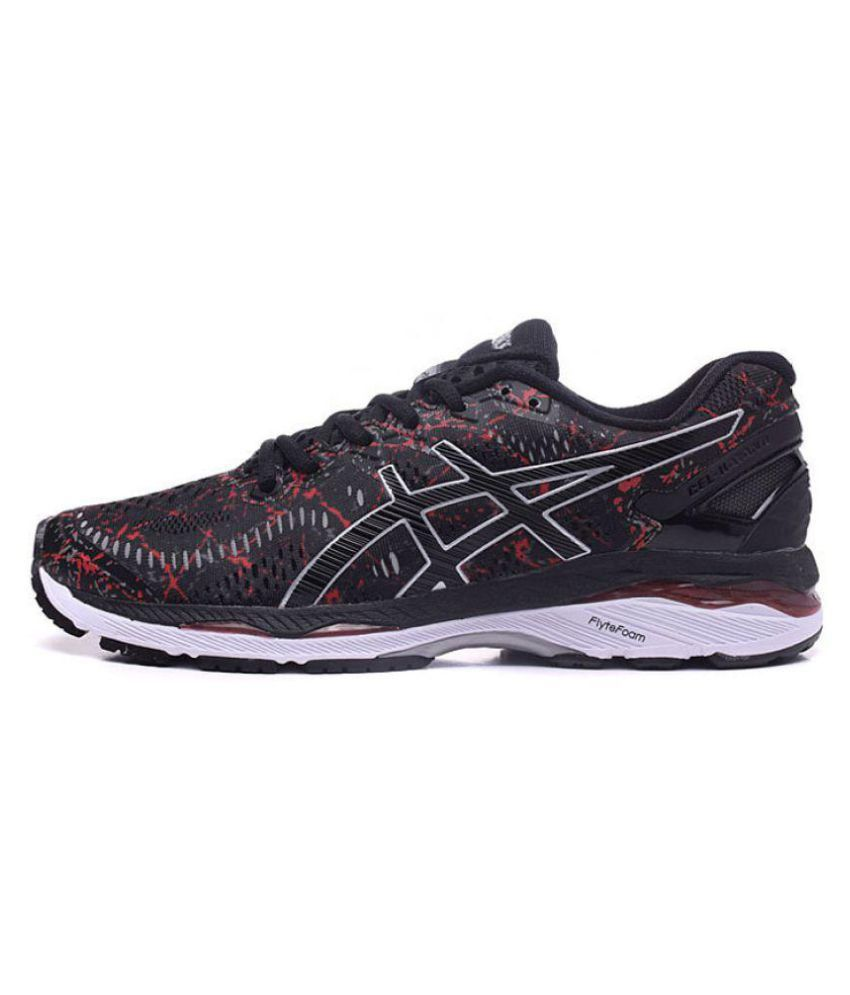 5725a0d8 Asics GEL-KAYANO 23 Black Running Shoes - Buy Asics GEL-KAYANO 23 Black  Running Shoes Online at Best Prices in India on Snapdeal