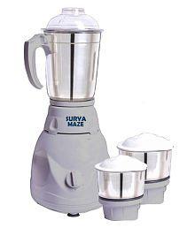 Surya Maze SMAV002 500 Watt 3 Jar Mixer Grinder