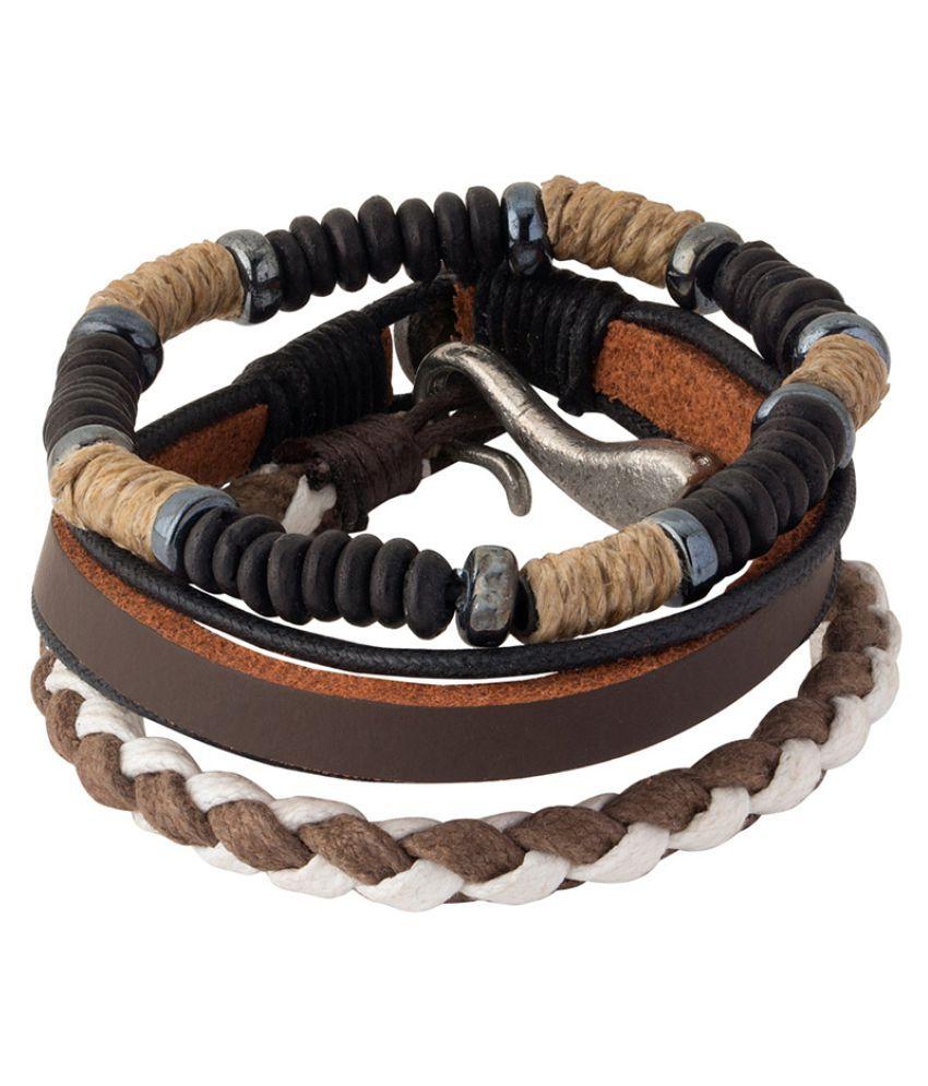Dare by Voylla Cowboy Forever Beaded Gypsy Bracelets