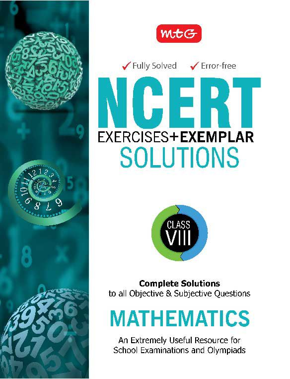 NCERT Exercises + Exemplar Solutions Mathematics Class 8: Buy ...