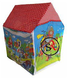 Tent House Play Fun Cottage Kids Easy to Assemble Playground Indoor Playing Gift Item Play Ghar Ghar