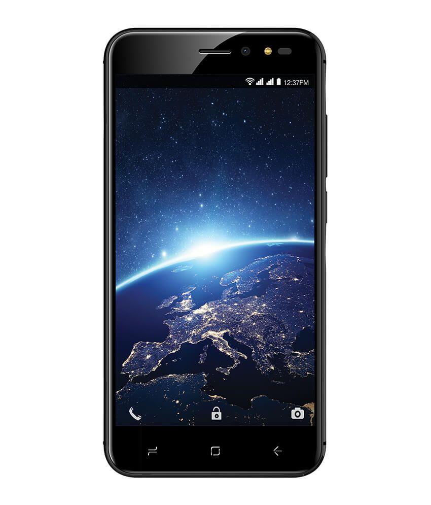 Intex Aqua star I10 ( 32GB , 3 GB ) Black