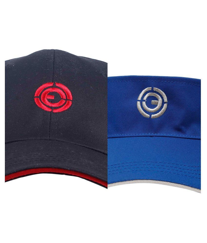 Ojass Multi Embellished Cotton Caps