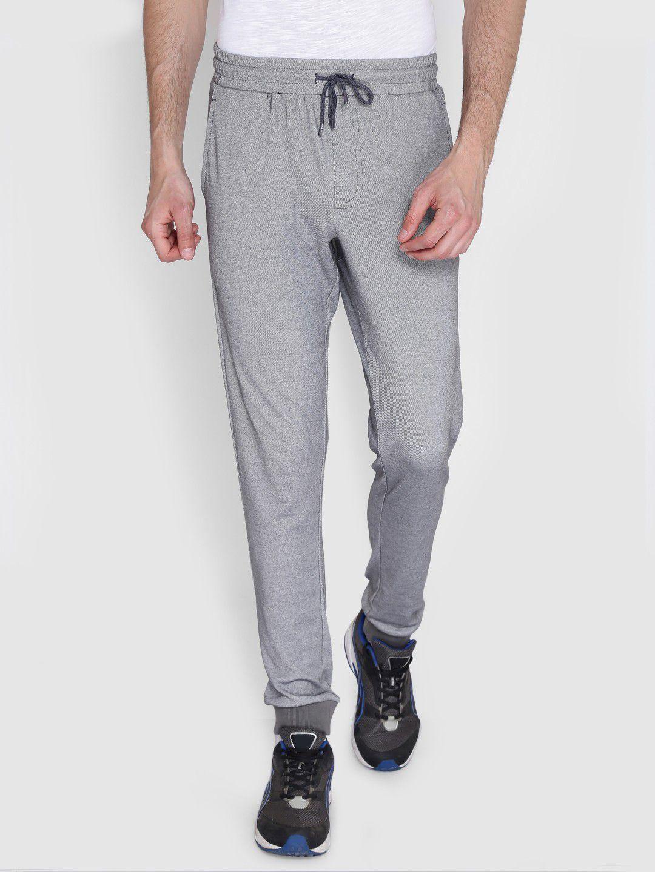 Alcis Mens Solid Grey Jogger