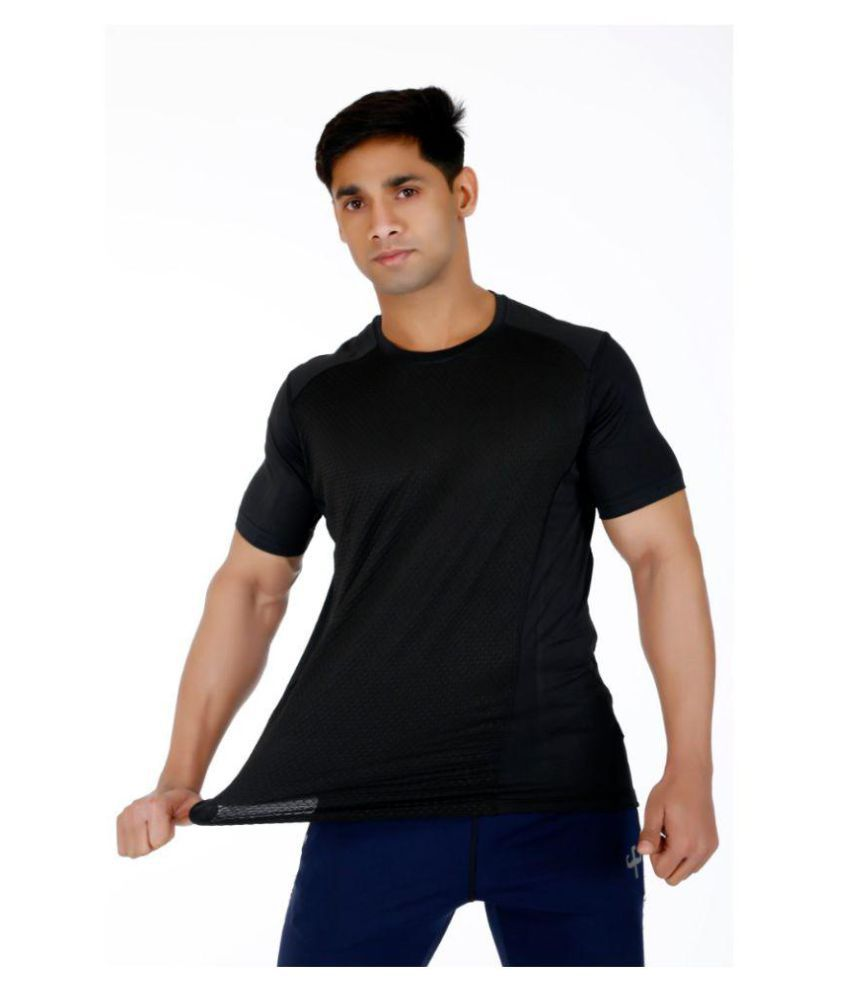 Klothoflex Black Airhive MEN's DRI-FIT T-SHIRTS