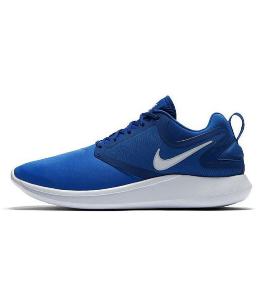 7b84f2588146 Nike Lunarsolo 2018 Blue Running Shoes - Buy Nike Lunarsolo 2018 Blue  Running Shoes Online at Best Prices in India on Snapdeal