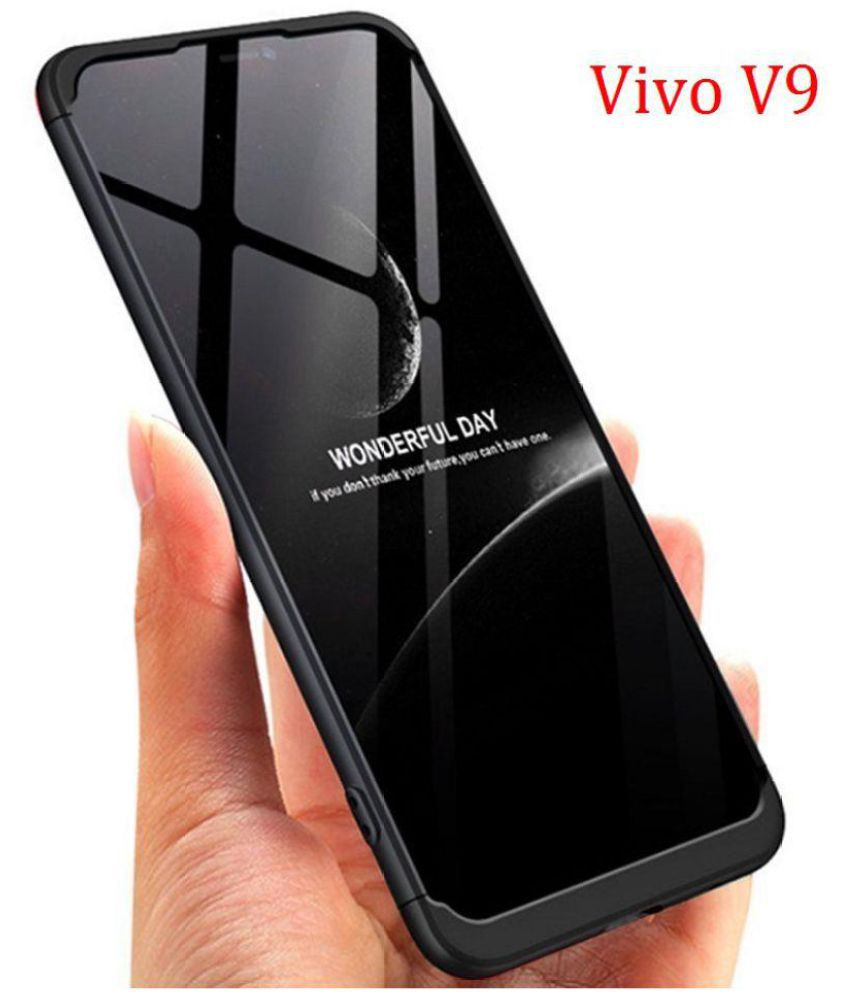 on sale f228a 6d5ff Vivo V9 Hybrid Covers JMA - Black Original Gkk 360° Protection Slim Case