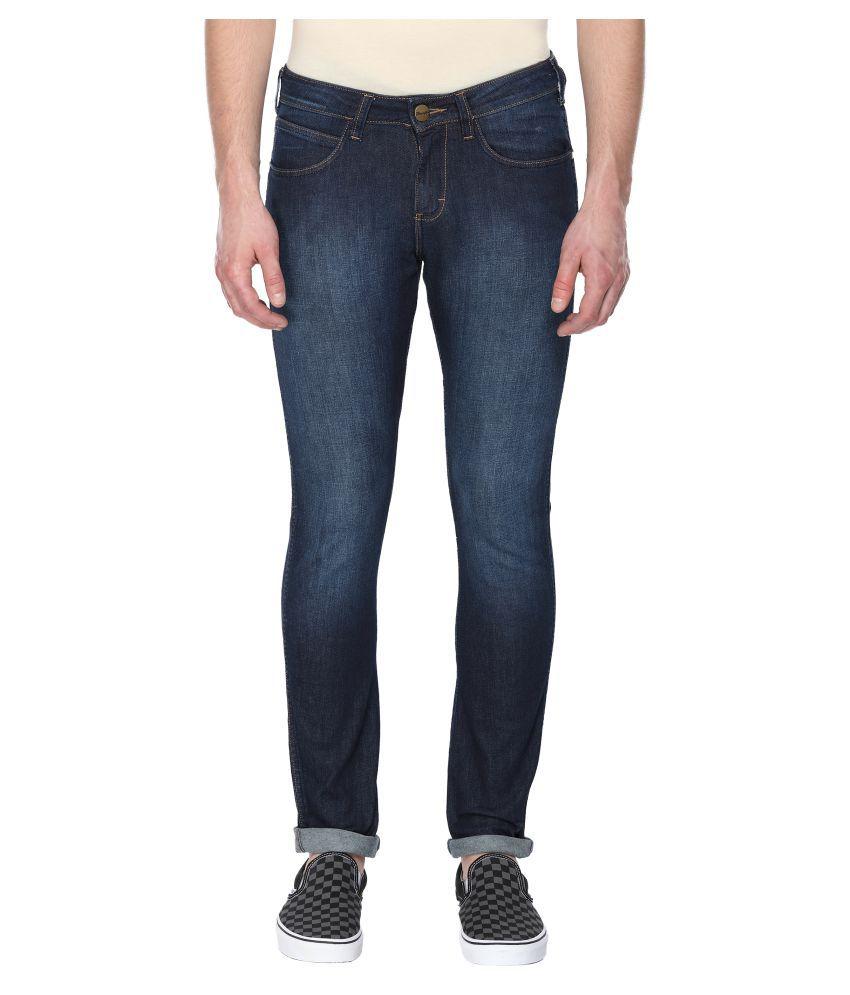 Wrangler Blue Skinny Jeans