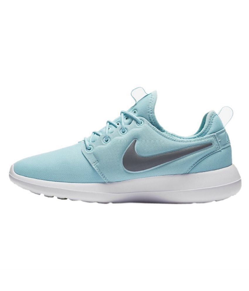 super popular 1be8d 12619 Nike Roshe Two Blue Running Shoes