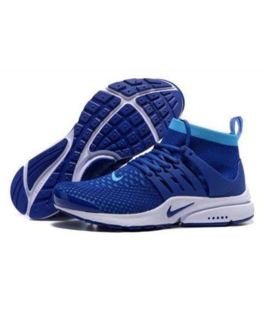 Nike Air Presto Flyknit Blue Running Shoes - Buy Nike Air