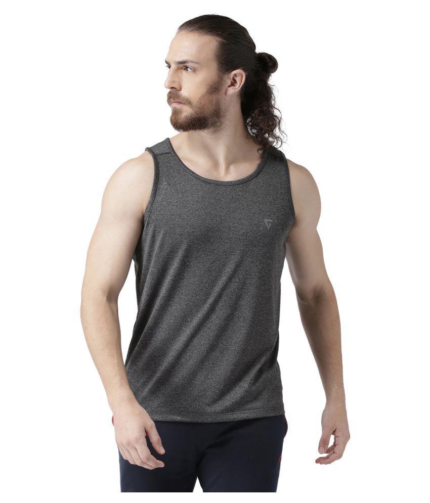 GRIFFEL Khaki Henley T-Shirt Pack of 1