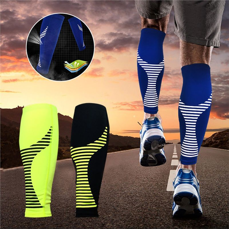 1 PC Basketball Football Running Knee Pads Adult Kneepads High Elasticity Warm Breathable Leg Brace Support Sleeve Socks Knee Protector Calf Support