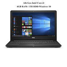 Dell Inspiron 3567 Notebook (6th Gen Intel Core i3- 4GB RAM- 1TB HDD- 39.62cm(15.6)- Windows 10) (Black)