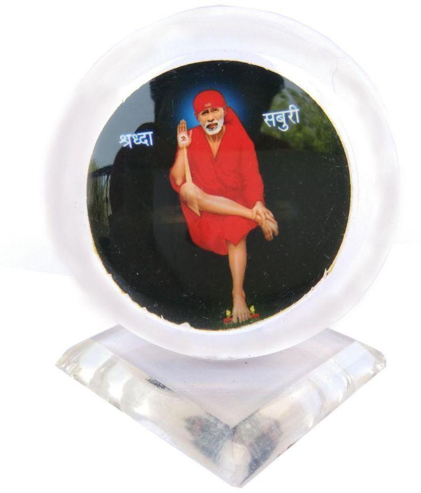 Shinde patil exports Sai Baba Acrylic Idol