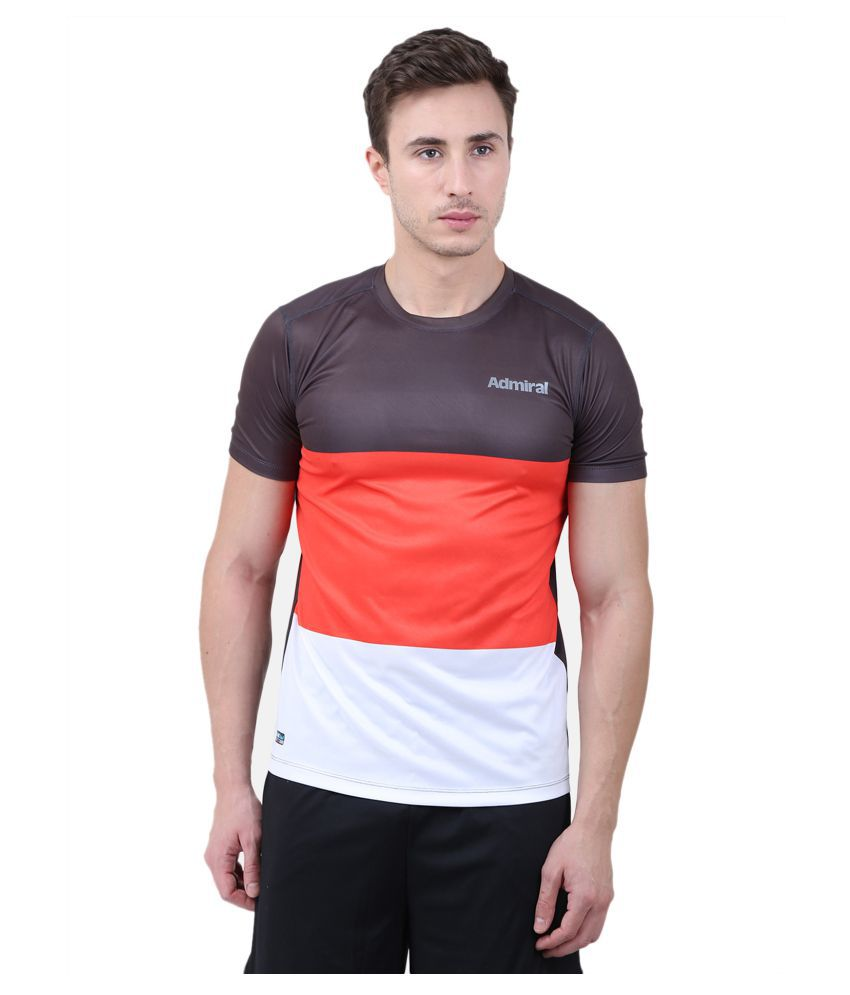 Admiral Multi Polyester T-Shirt