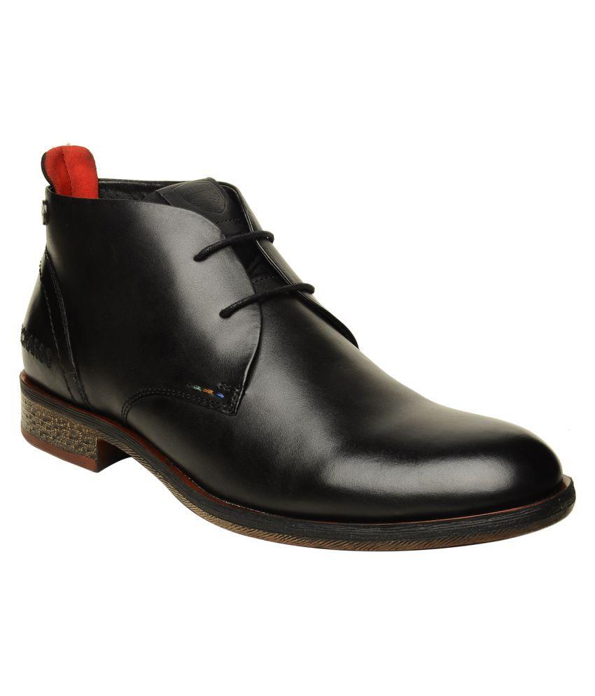 Buckaroo Black Casual Boot