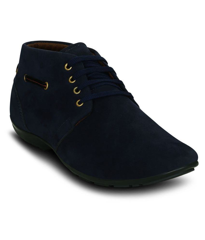 Get Glamr Blue Casual Boot