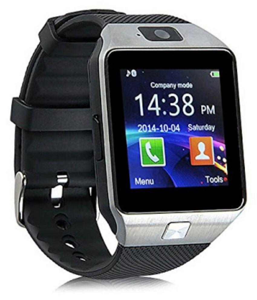 Bastex Smartwatch Suited Celkon XION S CT695 Dz09 Golden Smart Watches