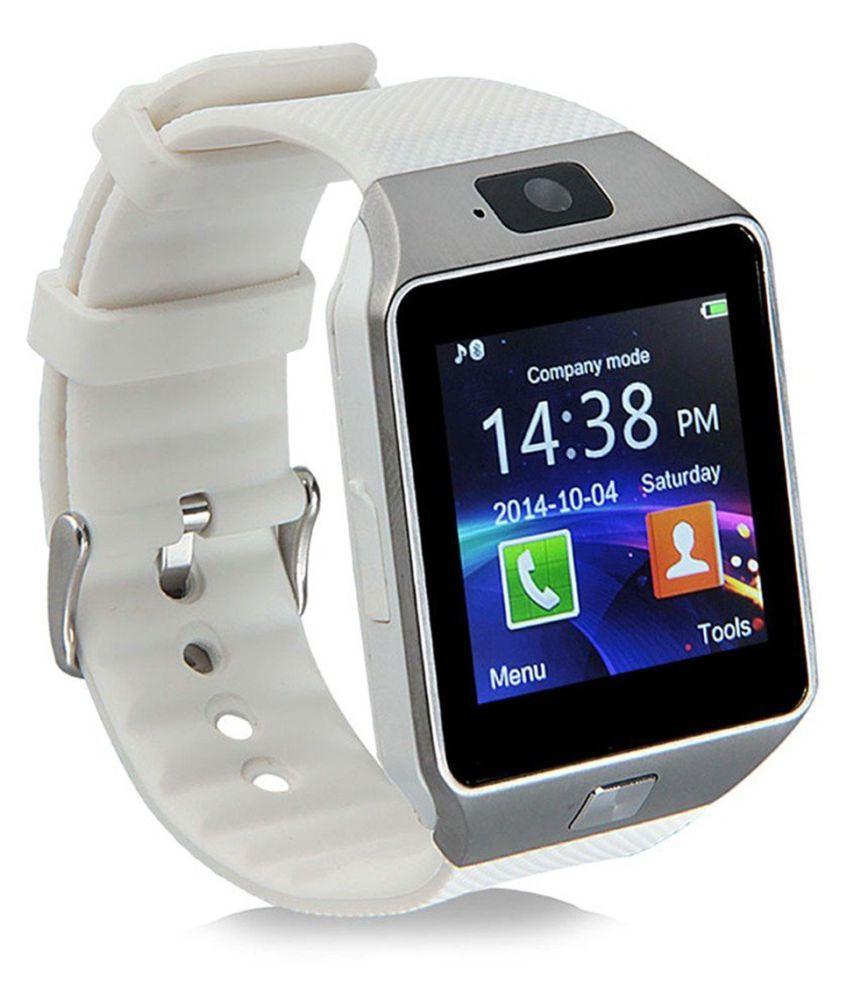Bastex Smartwatch Suited Huawei Ascend P8max Dz09 Golden Smart Watches