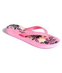 Bata Pink Slippers