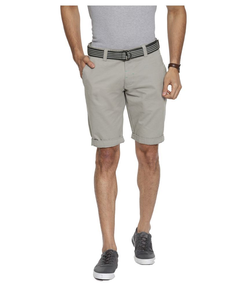 Fifty Two Grey Shorts