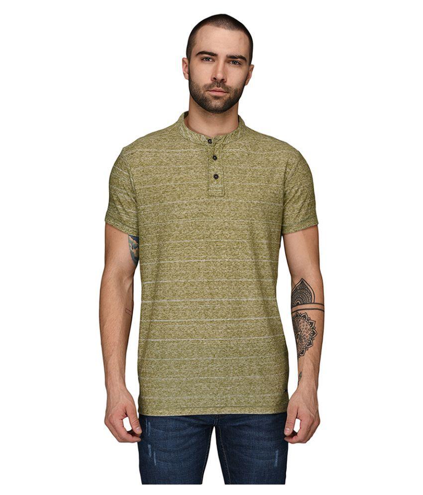JadeBlue Green Round T-Shirt Pack of 1