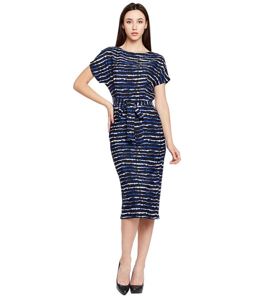 Oxolloxo Polyester Navy Dresses