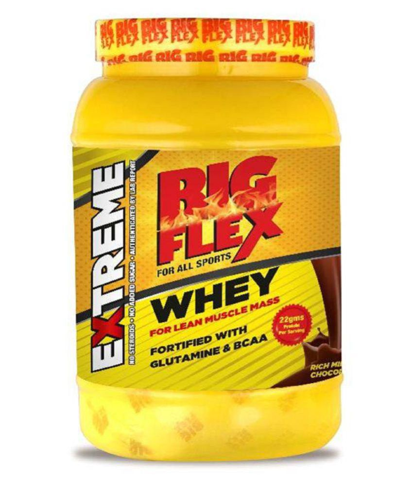 BigFlex Whey Protein Rich Milk Chocolate Flavour 1 kg