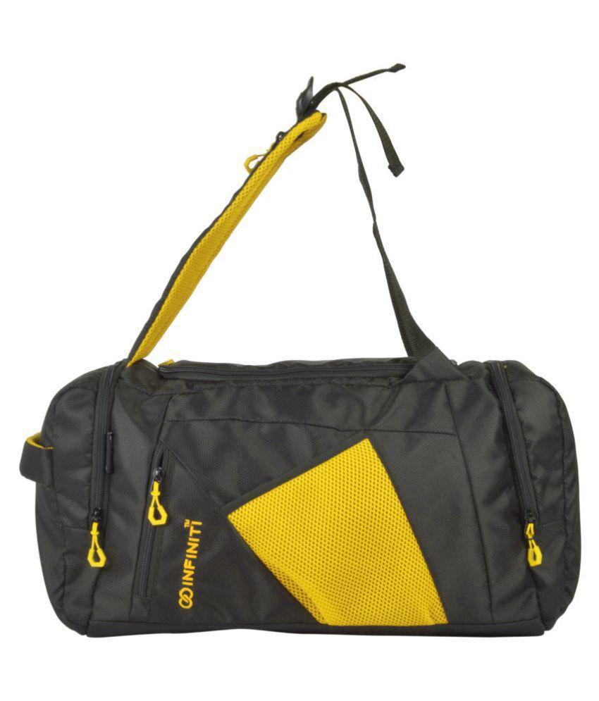 72f640e161 Infiniti Yellow Solid Duffle Bag - Buy Infiniti Yellow Solid Duffle Bag  Online at Low Price - Snapdeal