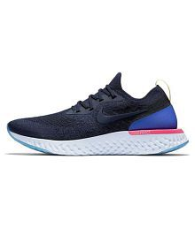 57bd54f3926 Quick View. Nike Epic React Flyknit Blue Running Shoes