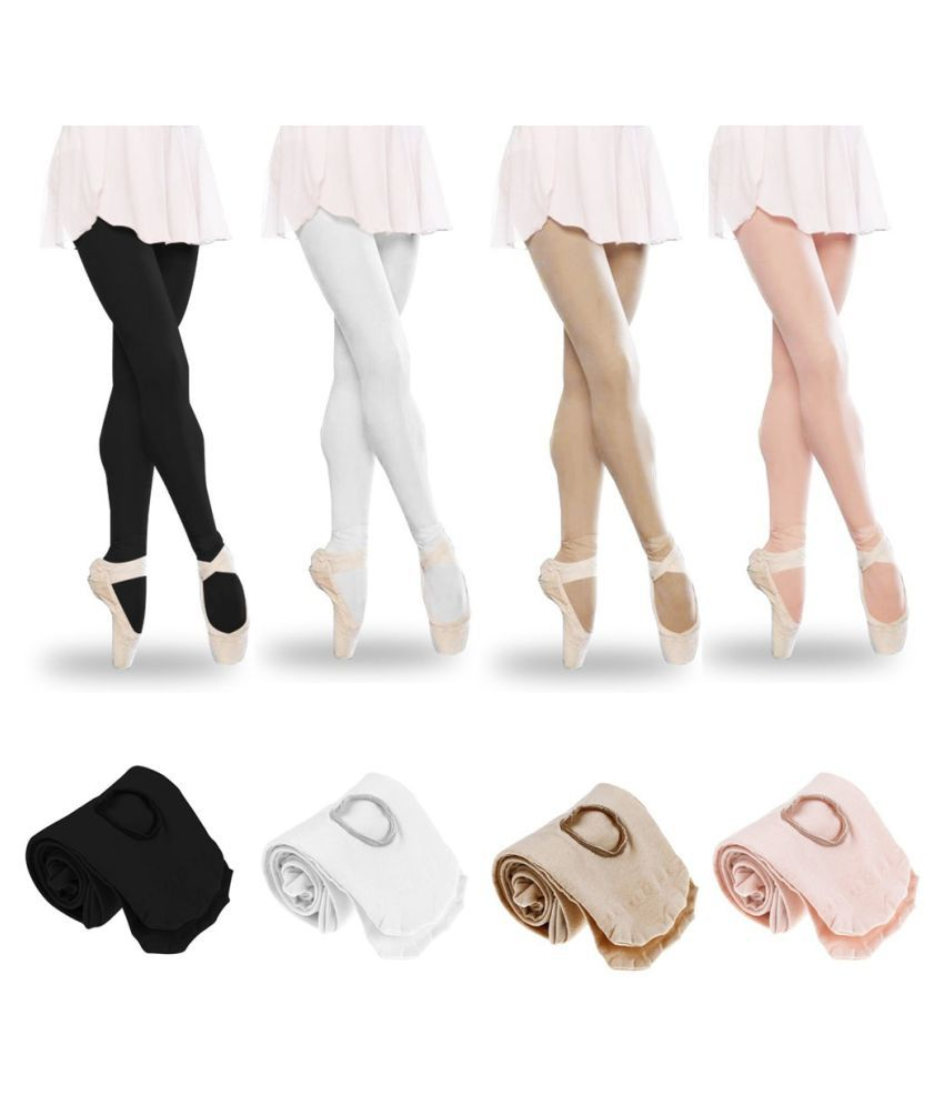 Kids Girls Dance Pantyhose Pant Ballet Sock Footed Tights Long Stockings Hot
