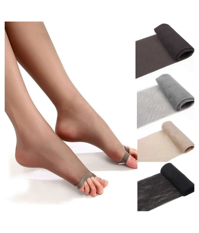 Perfect Legs Spring And Summer Style Breathability Stockings Transparent Pantyhoses Comfortable Core Silk Open Toes Pantyhose Ultra-thin Stocking Stockings Silk Stocking