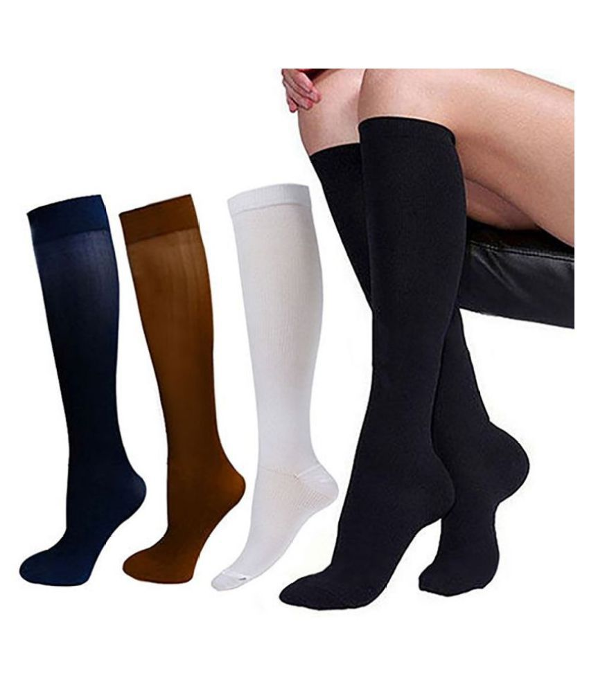 29-31CM Compression Outdoors Stockings Pressure Nylon Varicose Vein Stocking Travel Leg Relief Pain Support