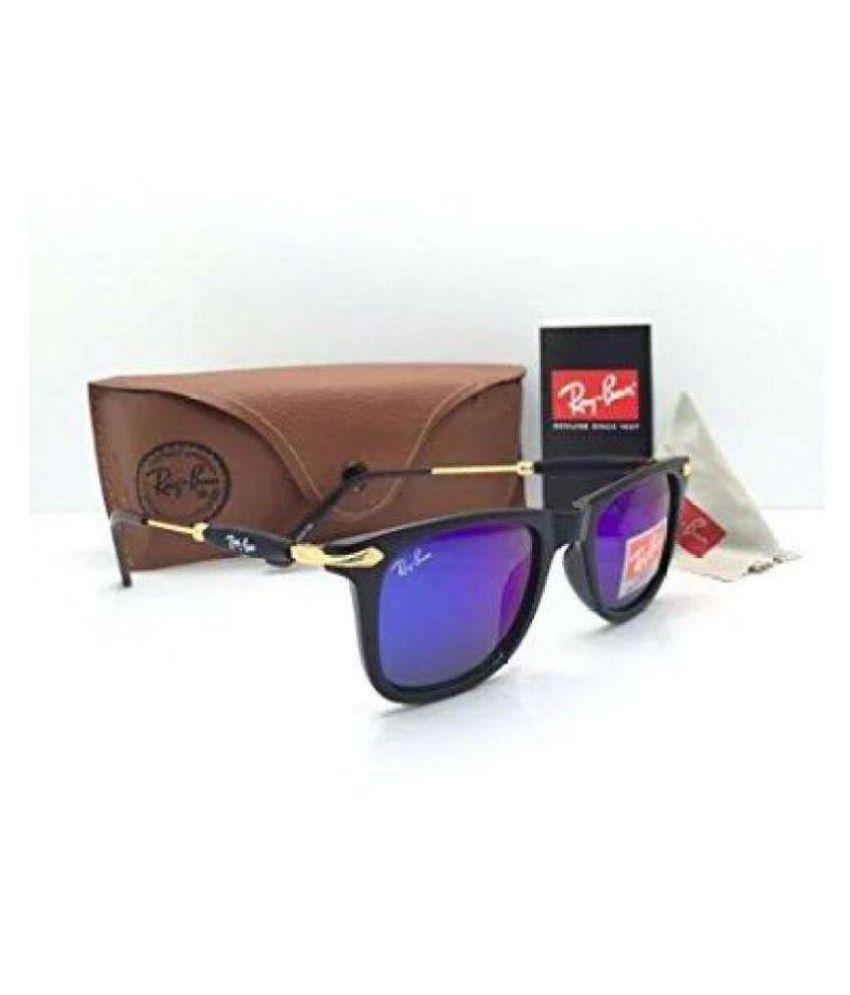 Ray Ban Avaitor Blue Aviator Sunglasses ( rb-2140/56/14 )