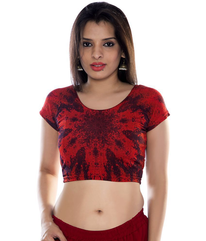 6ed506681e9 Louis Fashion Red Lycra Readymade without Pad Blouse - Buy Louis Fashion Red  Lycra Readymade without Pad Blouse Online at Low Price - Snapdeal.com