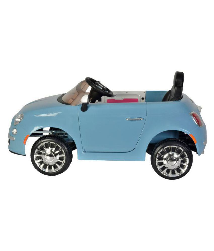 Toyhouse Official Licensed Fiat 500 Ride On Car Blue Buy Toyhouse