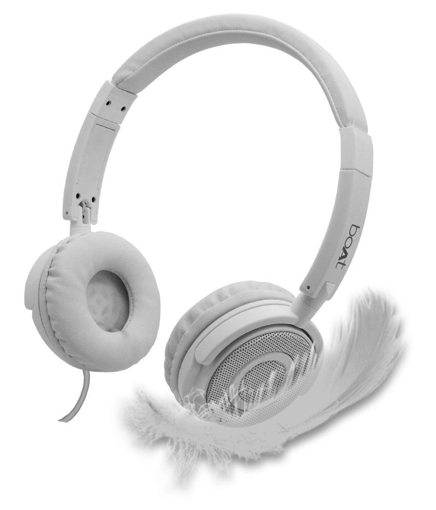 Boat BassHeads 900 On Ear Wired Headphones With Mic