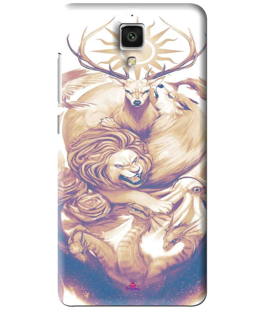 Xiaomi Mi4 3D Back Covers By Snooky