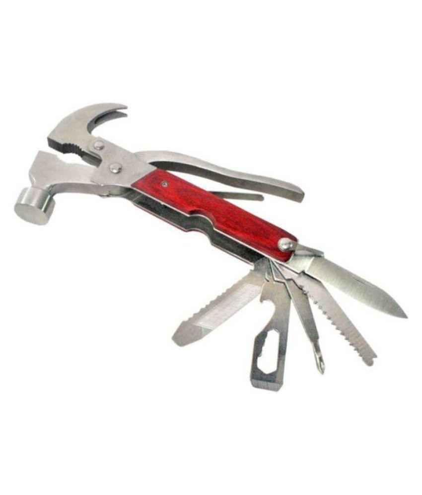10 in 1 Multi-Functional Hammer Plier Hand Tool Kit