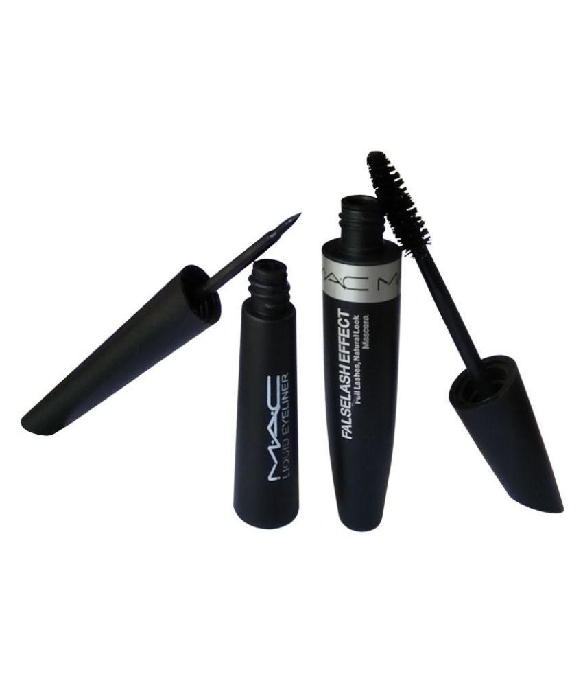 Mac Liquid Eyeliner Mascara Eyebrow Pencil 3 In 1 18 Ml Pack