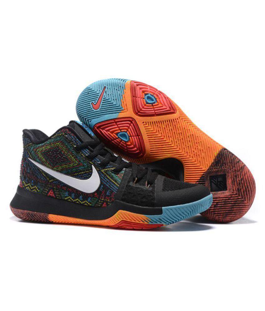 nike kyrie 3 multi color basketball shoes buy nike kyrie 3 multi