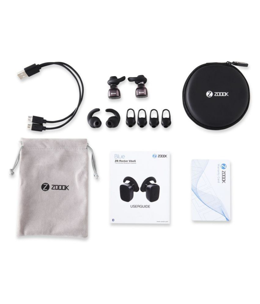 5ad52fa92f6 ... Zoook ZB-ROCKER VIBES Ear Buds Wireless Earphones With Mic ...
