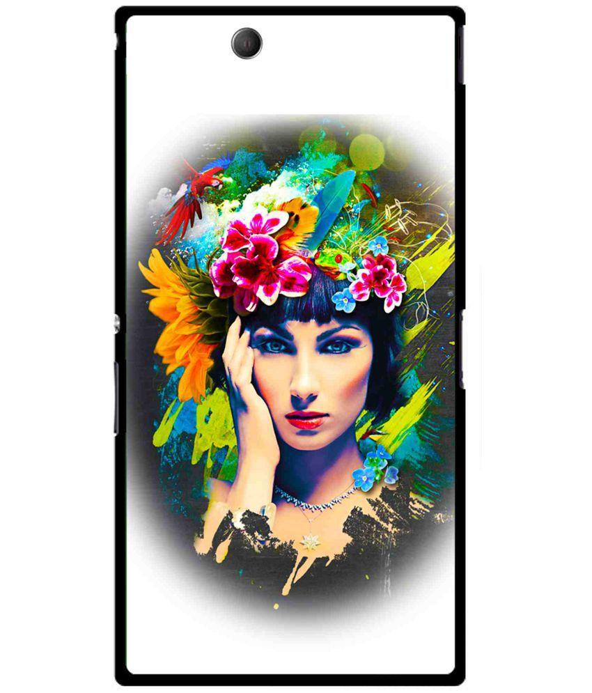 Sony Xperia Z Ultra Printed Cover By Snooky
