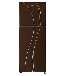 Haier 270 Ltr 3 Star HRF-2904PCG-R Double Door Refrigerator - Brown