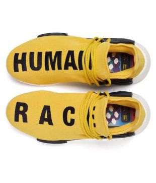 huge selection of 412fd f1d27 Adidas NMD Human Race Runner Boost Yellow Casual Shoes - Buy ...