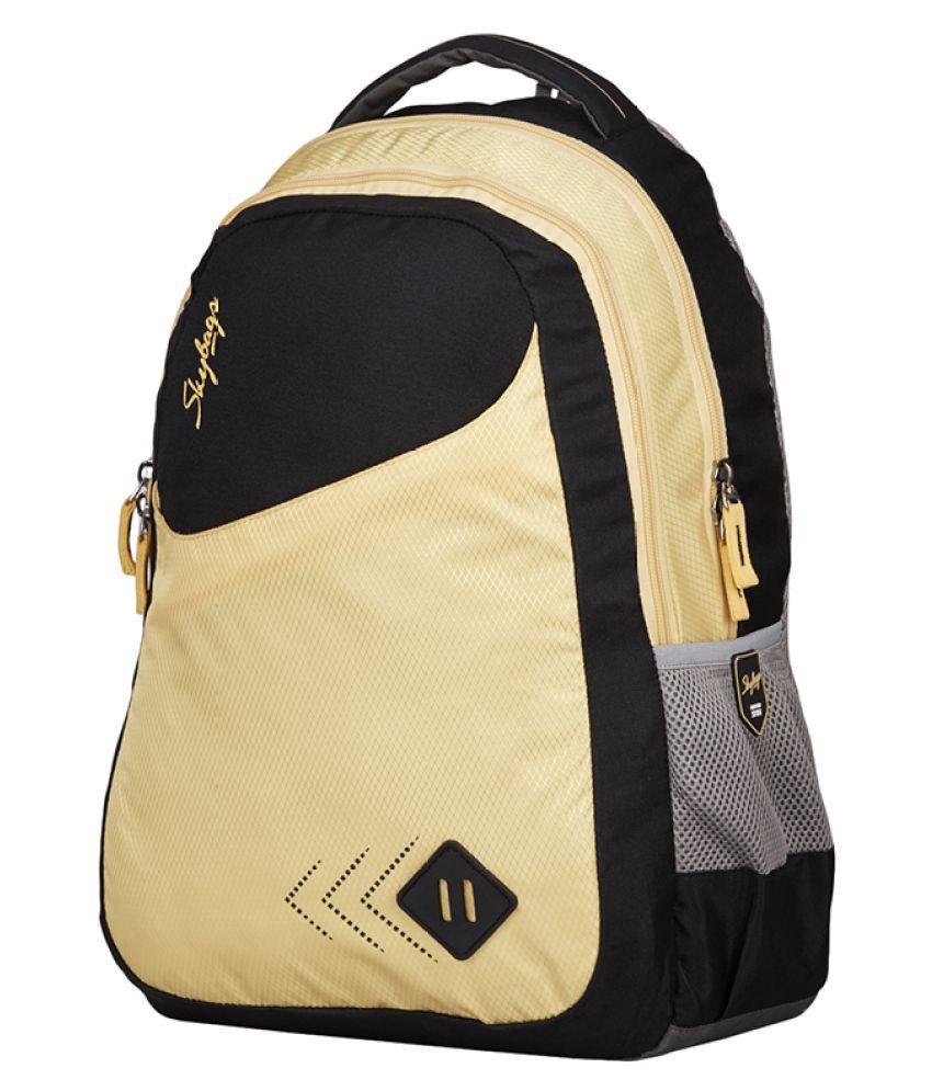 ... Skybags Branded Backpacks Laptop Bags SCHOOL BAG BLACK FOOTLOOSE LEO 4  ... 7a5bfbe62b
