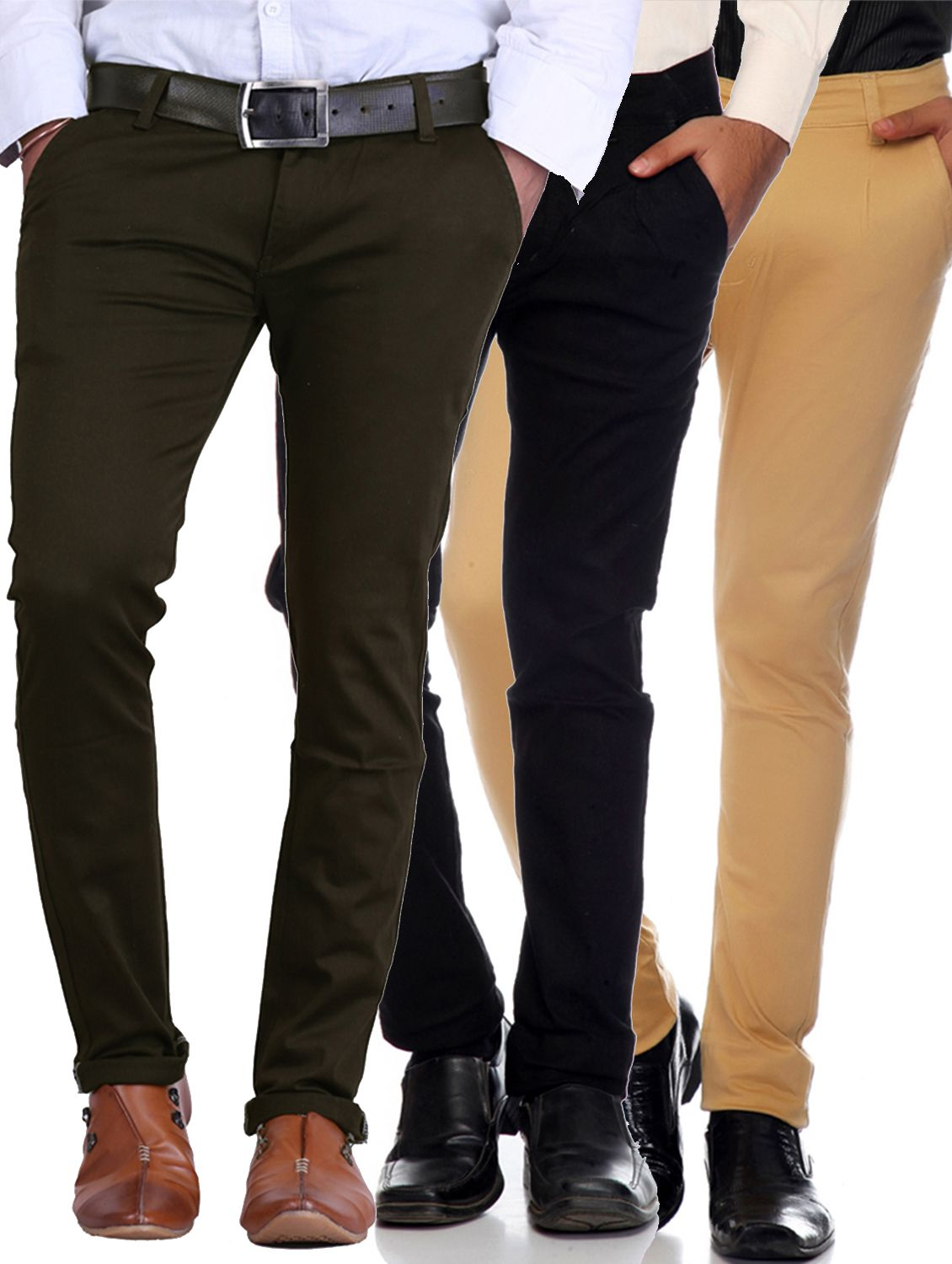 Van Galis Multicolored Regular -Fit Flat Trousers