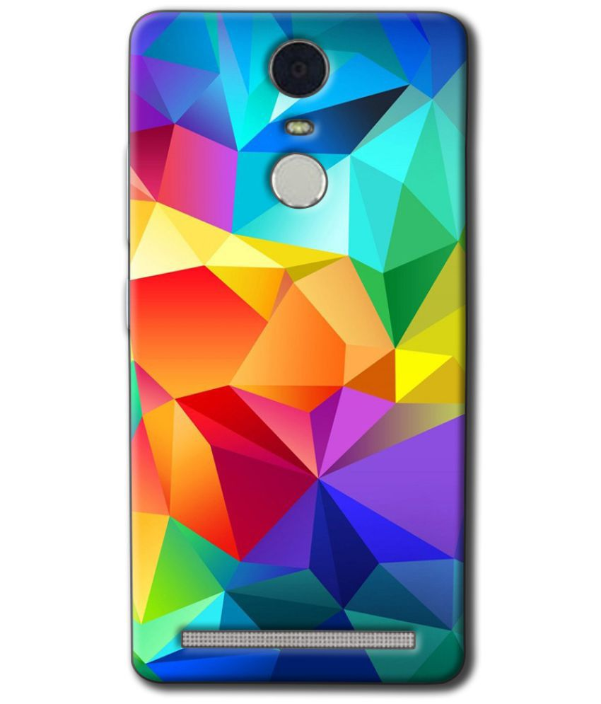 Lenovo K5 Note Printed Cover By Case King