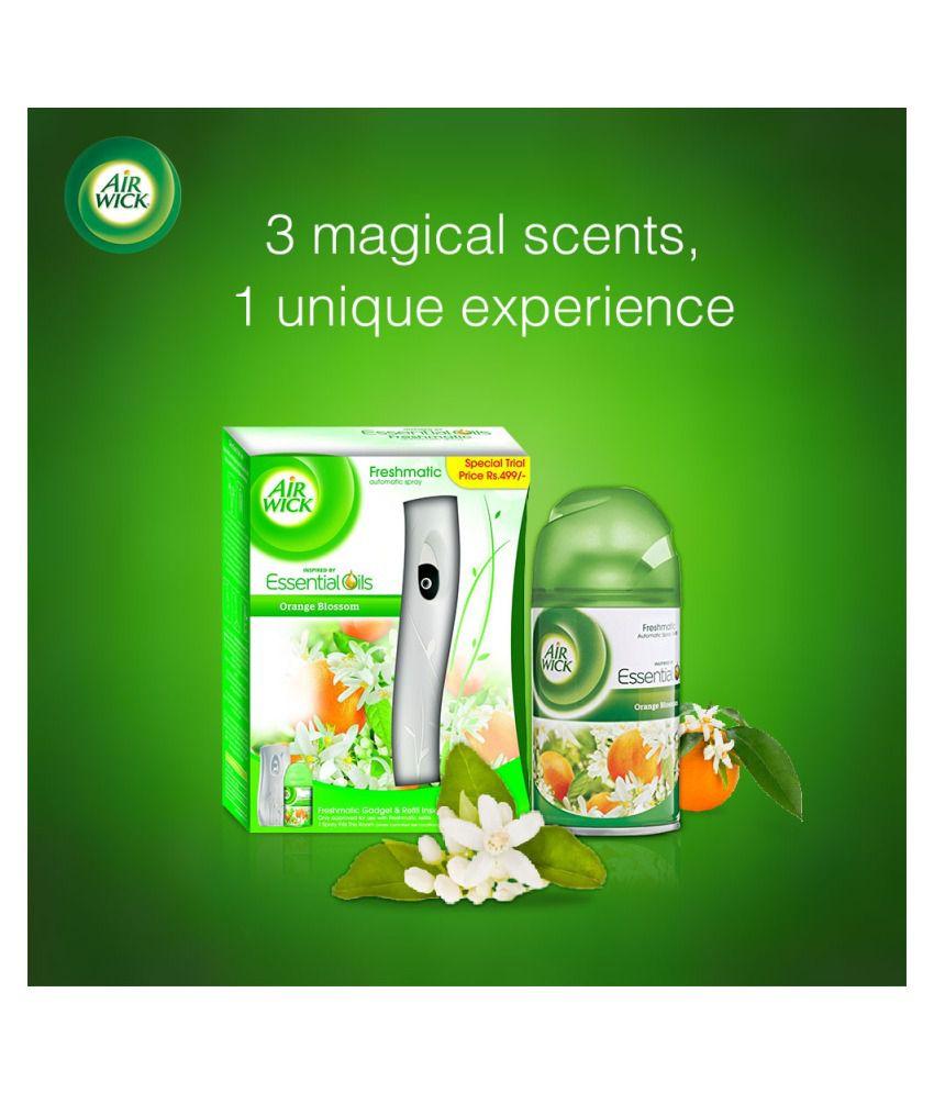 Airwick Freshmatic Complete Kit Orange Blossom 250 Ml Buy Online